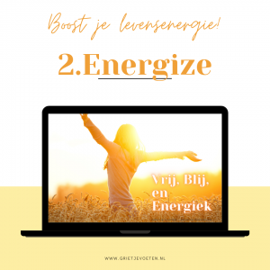 Boost je levensenergie! - online training