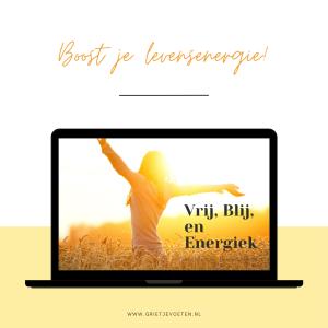 Boost je levensenergie - Grietje Voeten